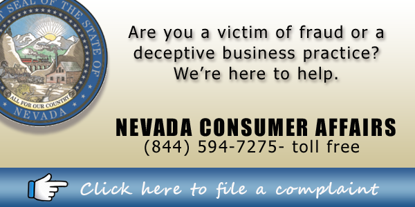 http://consumeraffairs nv gov/